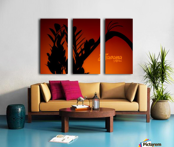 Savana Africa Split Canvas print