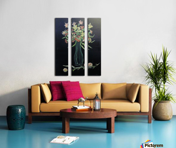 Flower Study 4 Split Canvas print