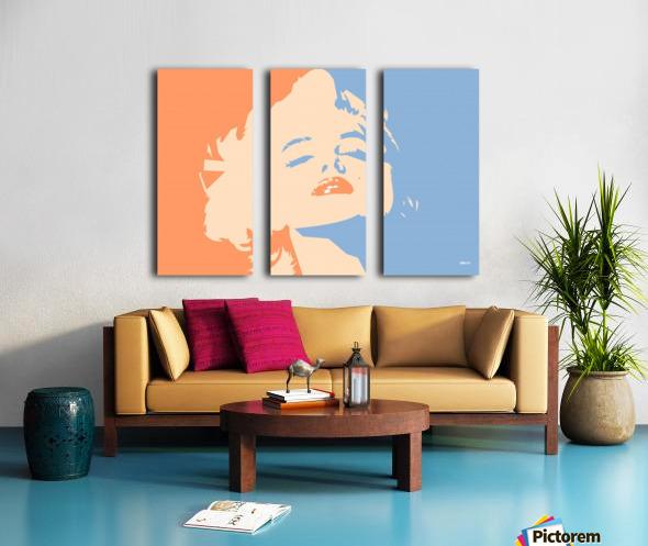 MM Split Canvas print