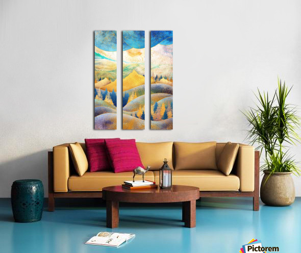 Beauty of Nature - Illustration III Split Canvas print