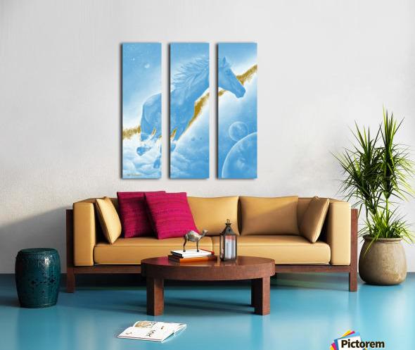 Celestial Horse Split Canvas print