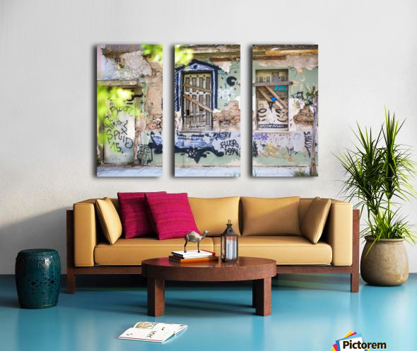 Doors & Windows 3 Split Canvas print