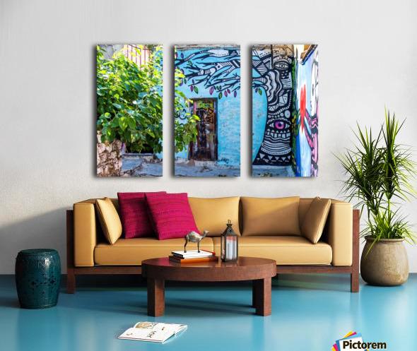 Doors & Windows 4 Split Canvas print