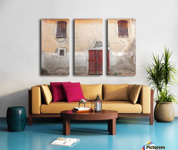 Corsica 12 Split Canvas print