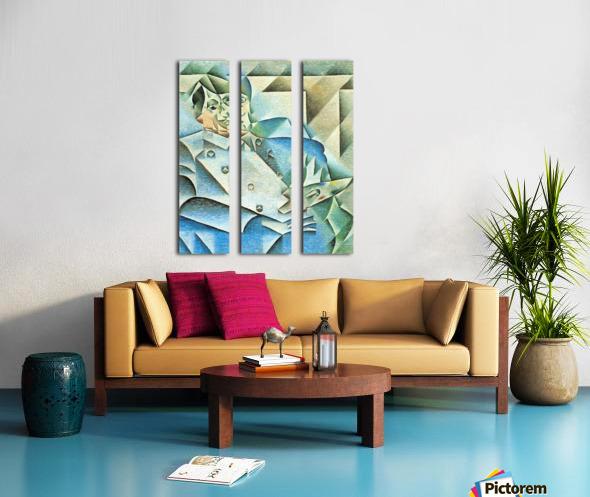 Homage to Pablo Picasso by Juan Gris Split Canvas print