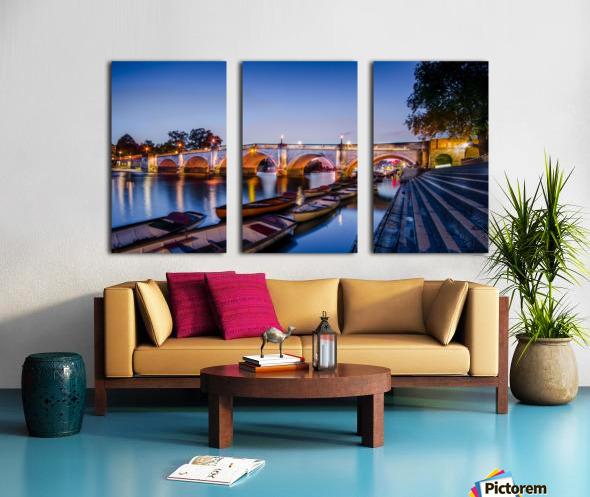 Richmond Bridge London Split Canvas print