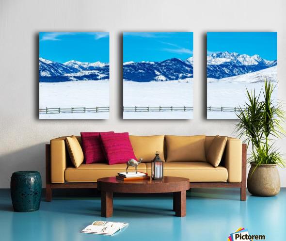 Mountain-Pano Split Canvas print