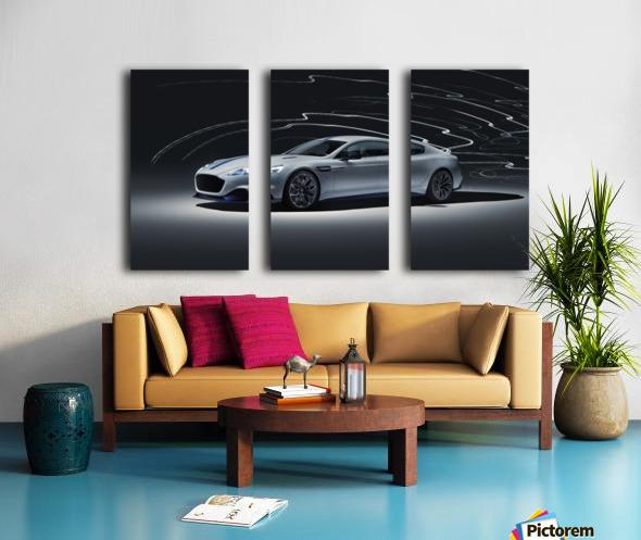 Aston martin rapid Car Split Canvas print