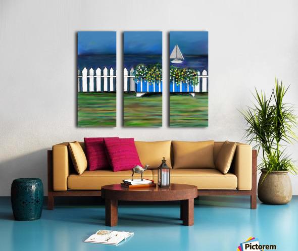 Seascape  Scene Split Canvas print