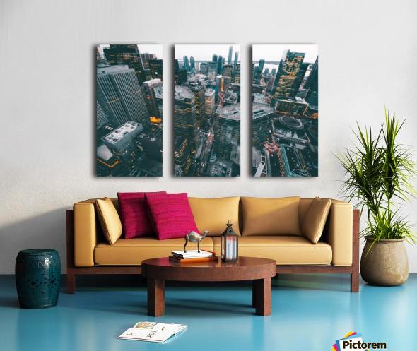 New York Architectural design Split Canvas print