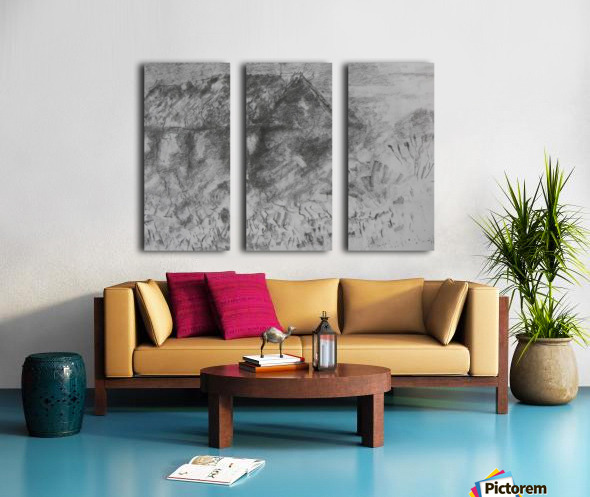 Desolation Split Canvas print
