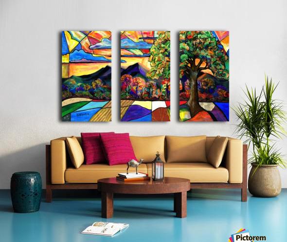Mt Landscape Split Canvas print