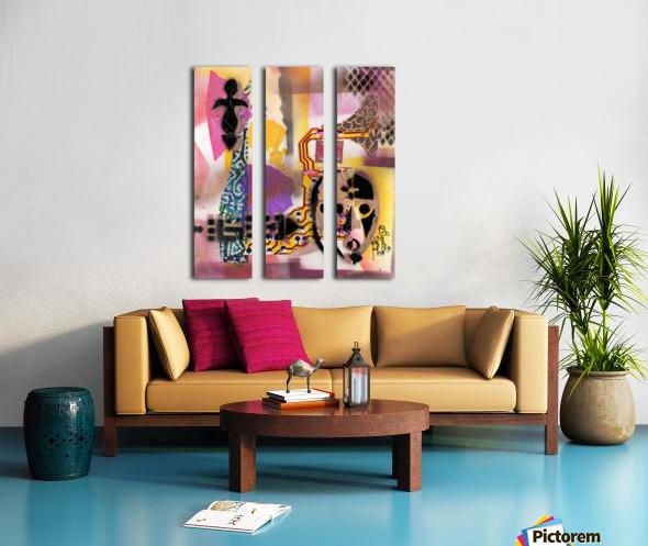 Cultural Remnant - g Split Canvas print