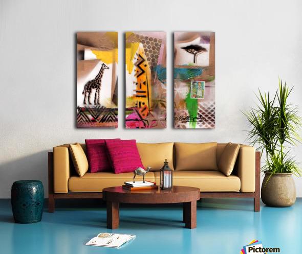 Cultural Remnant - M Split Canvas print