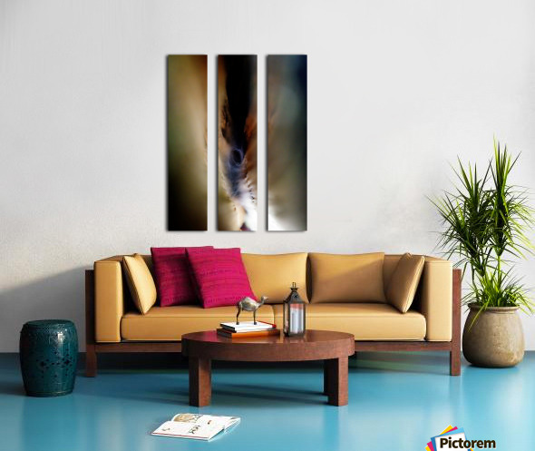 Abstract Macro Nature Photography 85 Split Canvas print