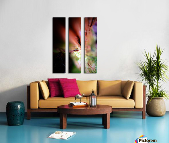 Abstract Macro Nature Photography 84 Split Canvas print
