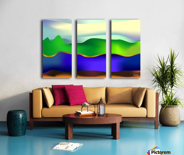 1-Serenity 1 Split Canvas print