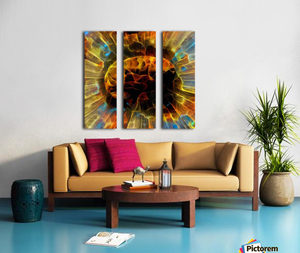 Power of Mind Split Canvas print