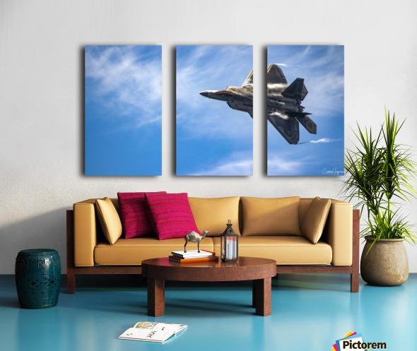 F-22 raptor Split Canvas print