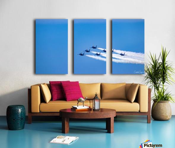 fighter jet formation Split Canvas print