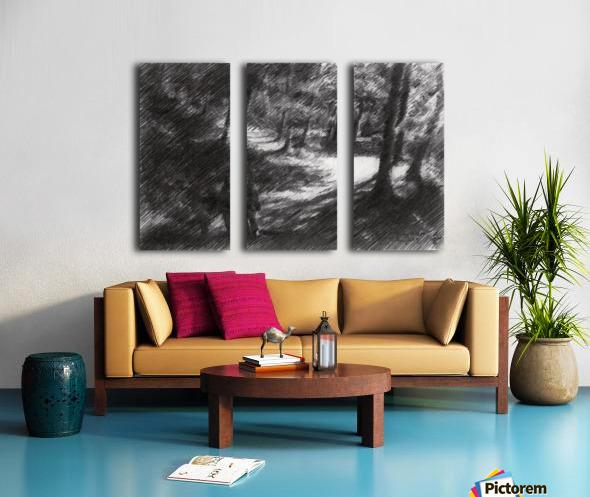 Plasmolen – 16-05-19 Split Canvas print