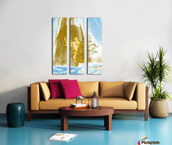 Ascending Angel Split Canvas print