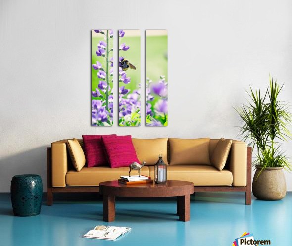 Bee In Flight 2 Split Canvas print