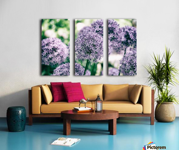 Grouped Together Split Canvas print