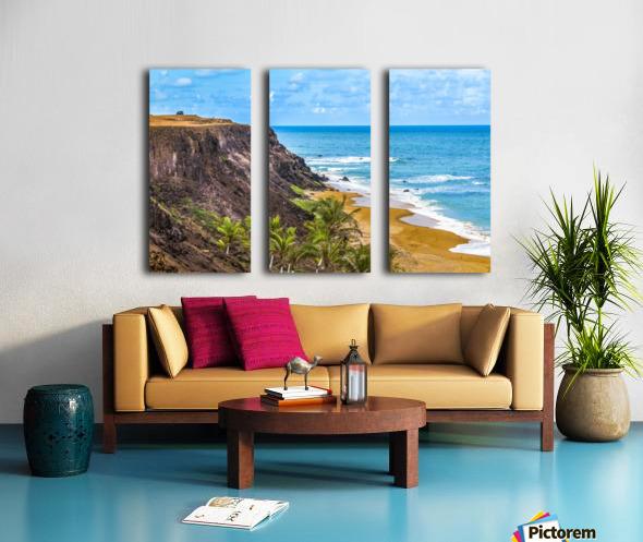 Praia Do Amor, Pipa   Brazil Split Canvas print