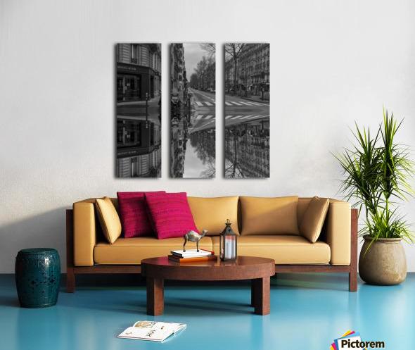 Paris - Street  2018 Split Canvas print