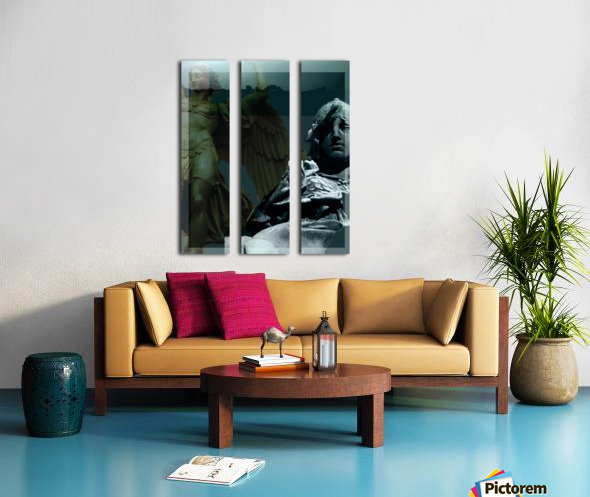 The Rejection of Caine Split Canvas print