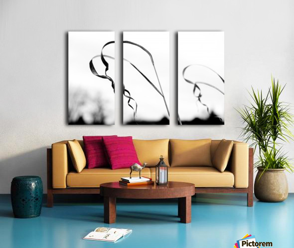 Thin Lines Split Canvas print