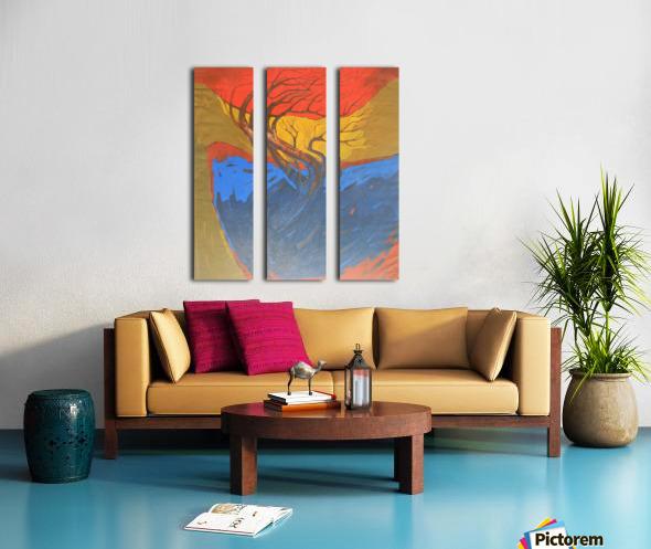 10 Split Canvas print