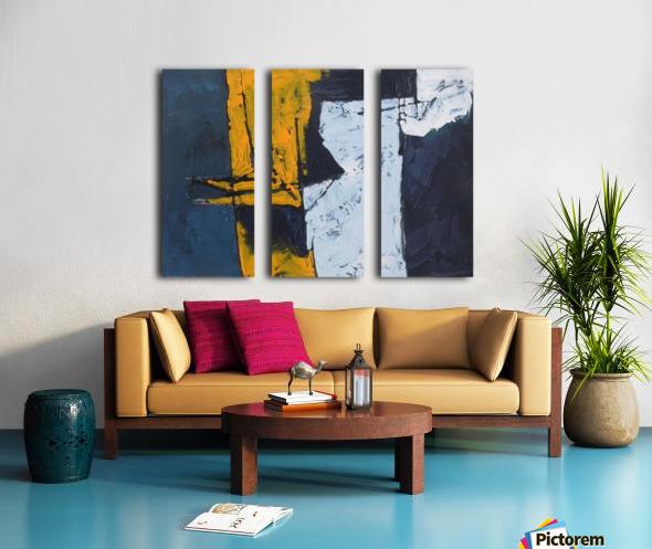 11 Split Canvas print