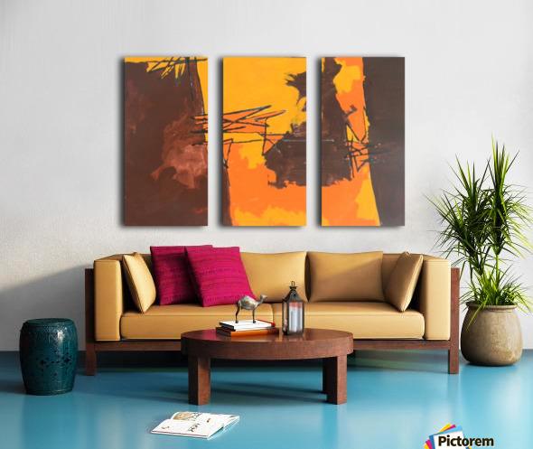 12 Split Canvas print