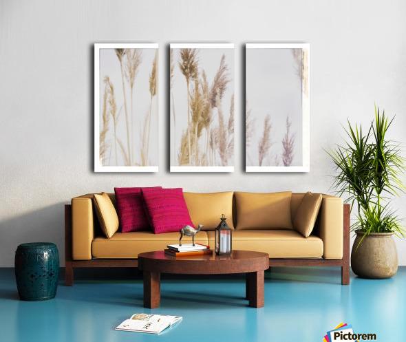Tall Grass Split Canvas print