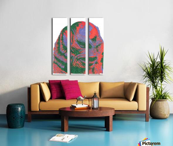 The Black Lagoon Split Canvas print