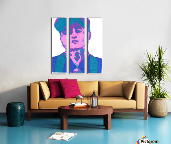 Remember me  Tex_2 Split Canvas print
