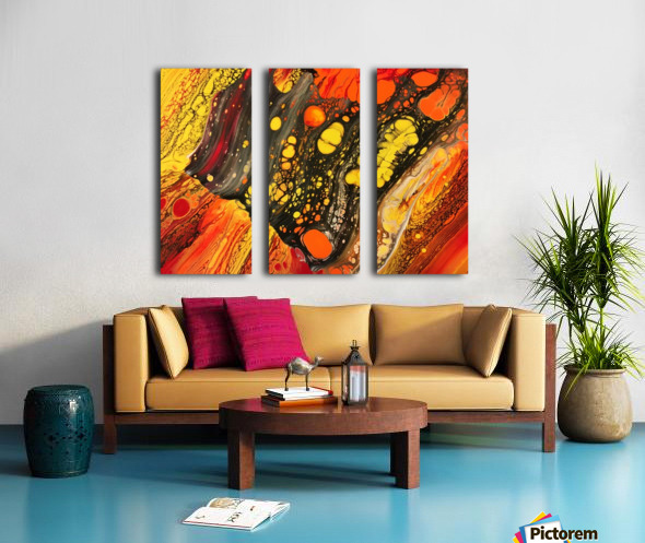 Retrospective  Split Canvas print