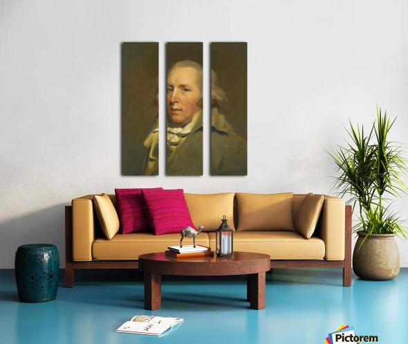 Sir Henry Split Canvas print