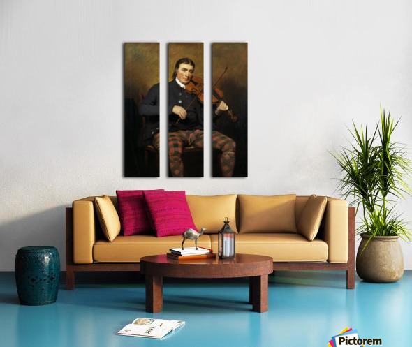 Niel Gow Split Canvas print
