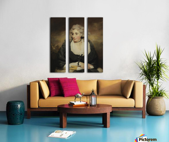 An old lady Split Canvas print