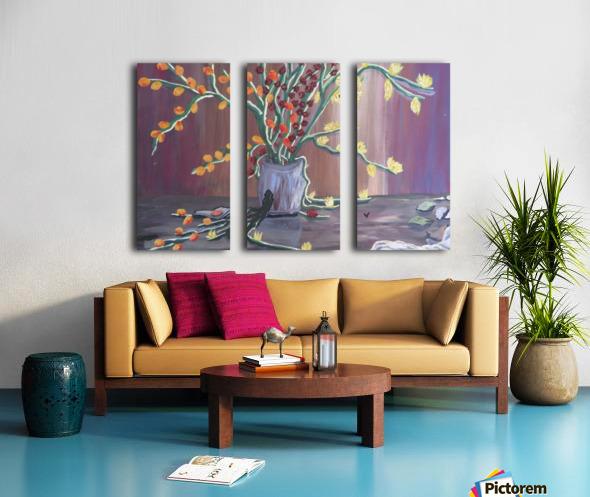 Known  Split Canvas print