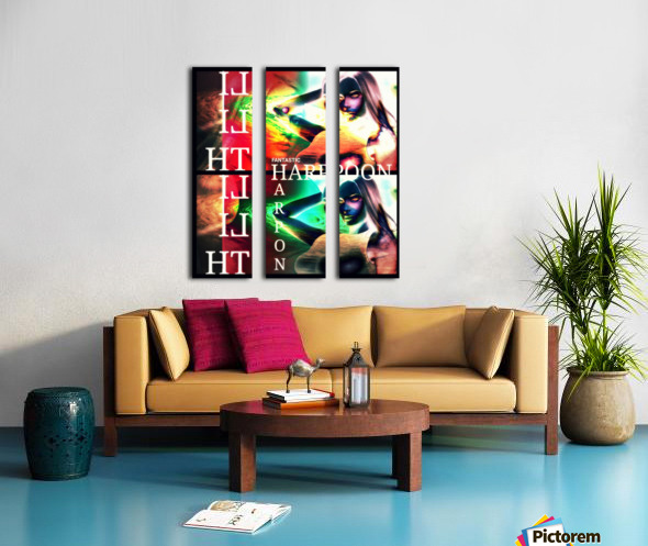 ekto3 Split Canvas print
