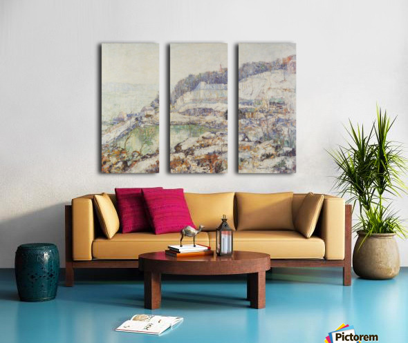 The Hudson Split Canvas print