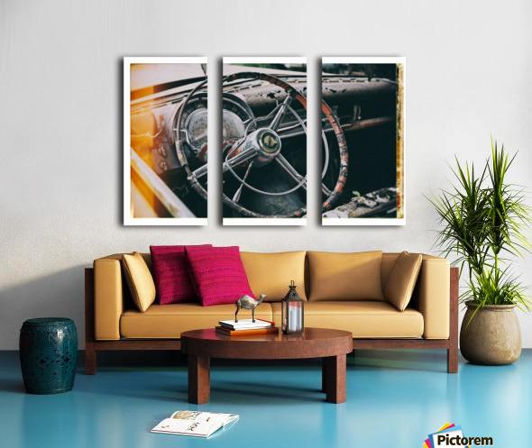 Vintage Chrysler Split Canvas print