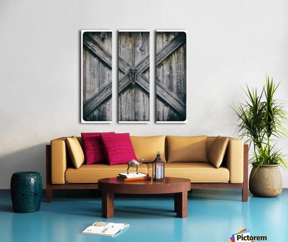 X Marks the Spot Split Canvas print