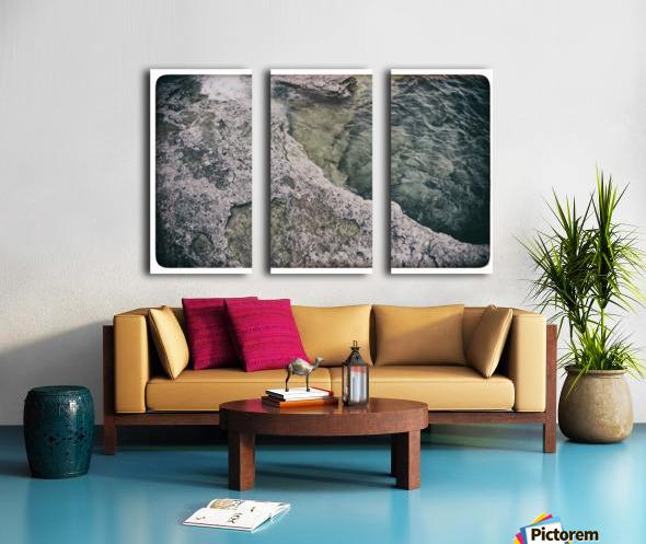 Along the water Split Canvas print