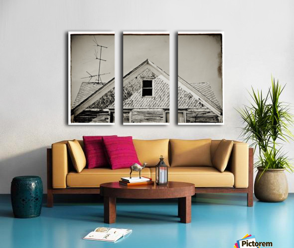 Top of the house Split Canvas print