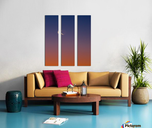 Full Spectrum Sky Split Canvas print